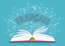 "Francais. Translate: ""French""...."