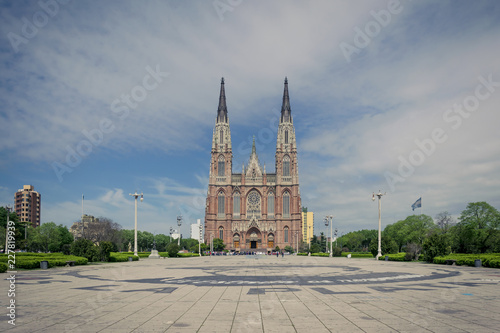 Catholic cathedral of La Plata City,