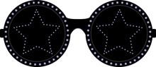 Black Stars Sunglasses