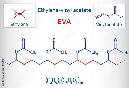 Vászonkép Ethylene-vinyl acetate (EVA)
