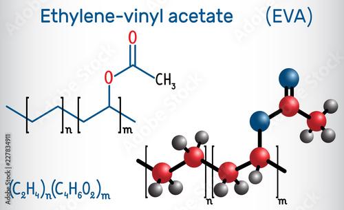 Ethylene-vinyl acetate (EVA) Canvas Print