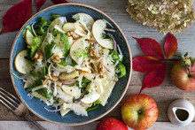 Apple And Fennel Salad With Wa...