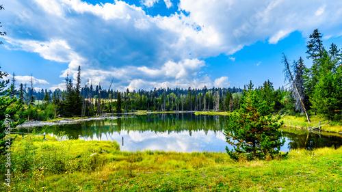 Spoed Foto op Canvas Nieuw Zeeland Wallender Lake along the Lac Le Jeune Road near Kamloops, British Columbia, Canada