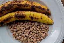 Ghanaian Roasted Plantain And Peanut