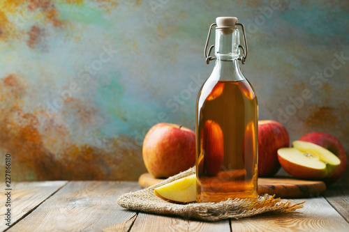 Canvas Print Apple vinegar