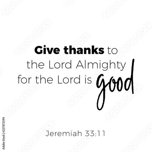 Valokuvatapetti Biblical phrase from jeremiah 33:1