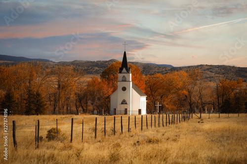 Fototapeta Montana Church