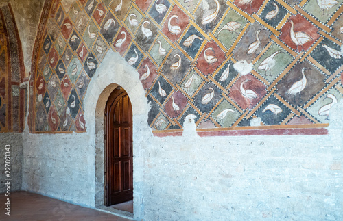 Anagni the town of art and history Canvas-taulu