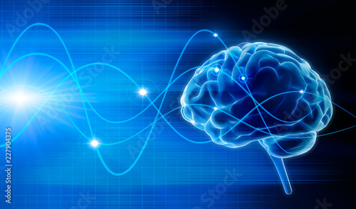 Gehirn - Schwingungen 3 фототапет
