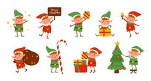 Collection Of Christmas Elves ...