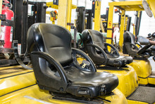 The Seat Of The Forklift