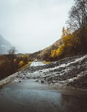 Mud Slide In Geiranger