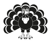 Black And White Thanksgiving T...