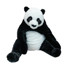 Panda. Soft Toy Isolated On White With Clipping Path