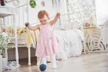 Childhood Concept. Baby Girl I...