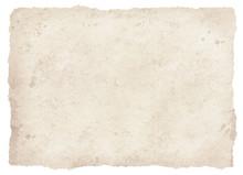 びりびりの古紙白