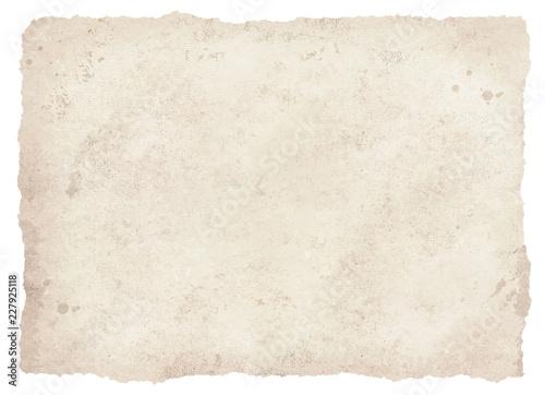 Tablou Canvas びりびりの古紙白