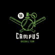 Emblem of campus baseball team