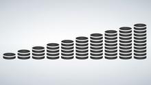 Coins Stack Vector Illustratio...