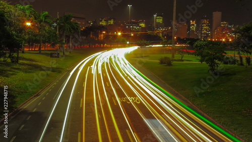 Photo  Light Trail at Aterro do Flamengo 3
