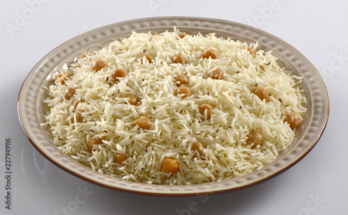 Chana Pulao, Rice with Chickpeas