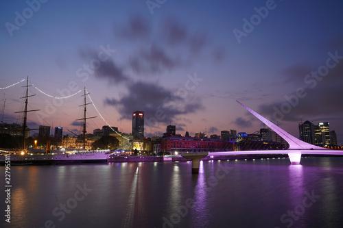 Keuken foto achterwand Noord Europa Sky and Bridge