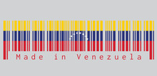 Barcode Set The Color Of Venez...