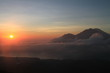 Sonnenaufgang vom Vulkan