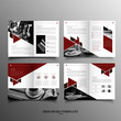 Business commercial brochure template