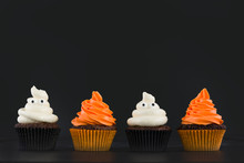 Halloween Poop Cupcakes. Ghost...