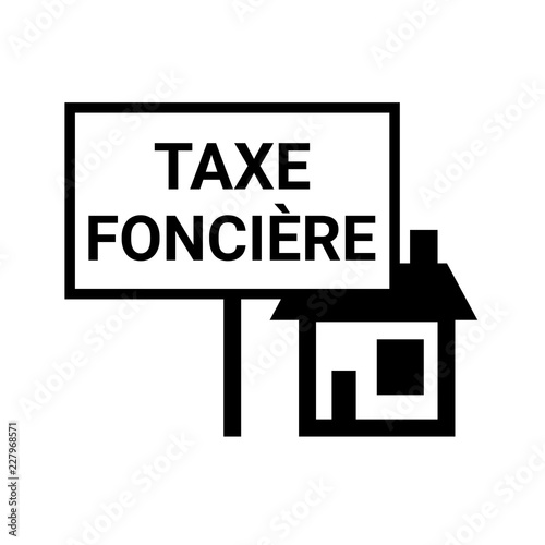 Fotografía  Taxe foncière symbole