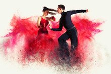 Dancing Ballroom. Color Dust E...