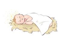 Baby Jesus / Baby Sleeping In ...
