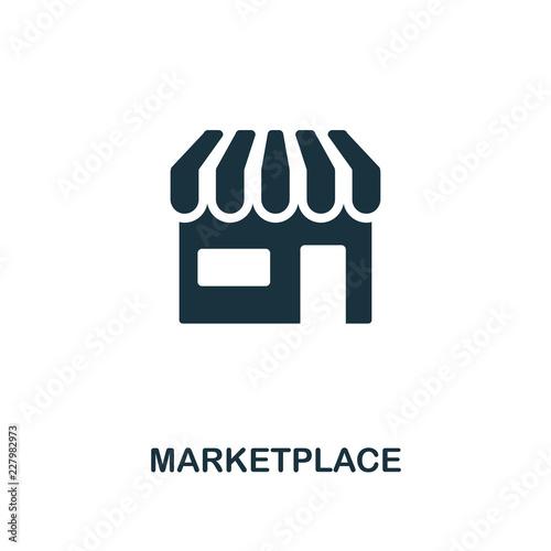 Cuadros en Lienzo Marketplace icon