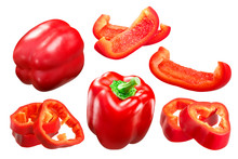Red Bell Pepper Whole And Slic...