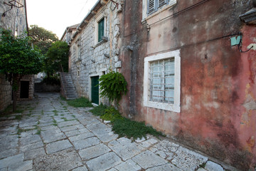 Fototapeta Pittoreske Architektur auf Peljesac - Kroatien