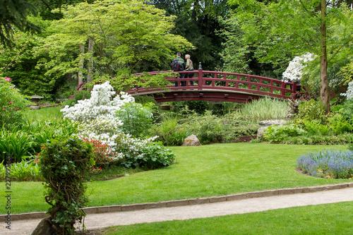 Foto op Plexiglas Groene May. Japanese garden. Leverkusen