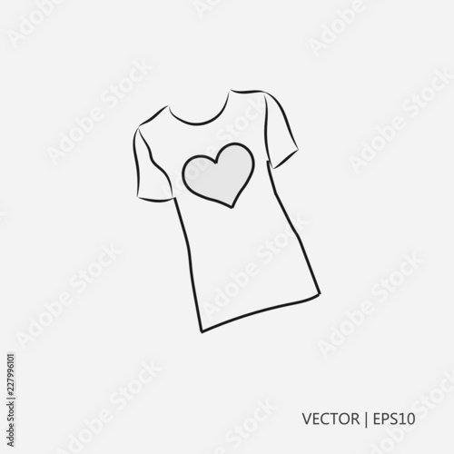 Shirts Coloring Page - Free Shirts Coloring Pages ... | 500x500