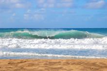 Aqua Waters Of Polihale Beach State Park Kauai
