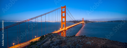 Golden Gate Bridge in San Francisco, USA