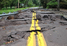 Ruined Washed Out Road
