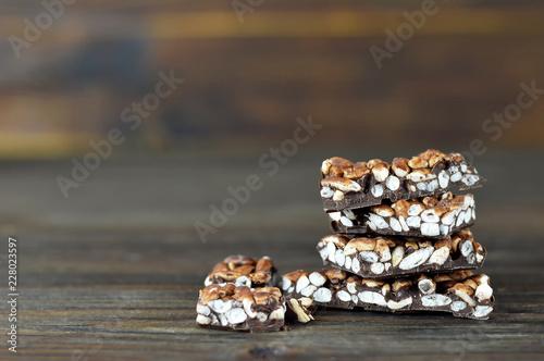 Valokuva Puffed rice chocolate