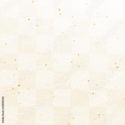Obraz na plátně 市松模様 和紙風テクスチャ