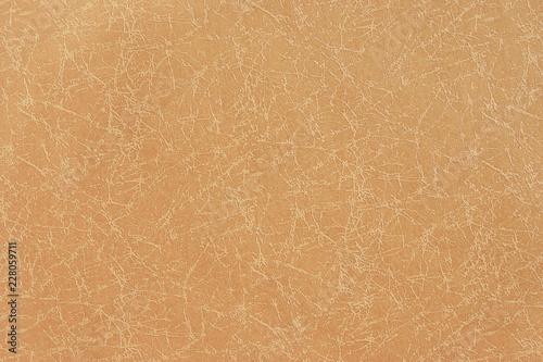 Fotografering  Orange Beige Embossed Textured Paper for Background