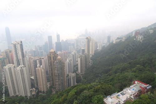Photo  香港 ビクトリアピーク