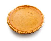 Fresh Baked Pumpkin Pie Isolat...