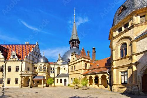 Keuken foto achterwand Historisch geb. Schoenfeld Schloss - Schoenfeld palace
