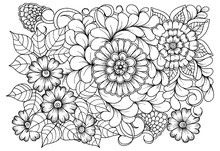 Page For Coloring Book. Outlin...