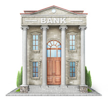 Business Concept. Bank Buildin...