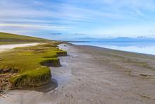 Erosion Dutch Coast At Punt Van Reide